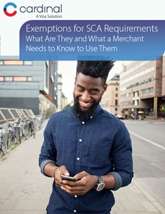 Exemptions for SCA Requirements What Are They and What a Merchant Needs to Know to Use Them